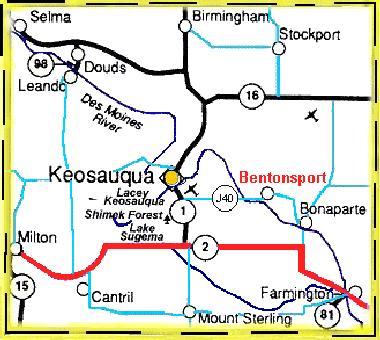 Bentonsport Iowa Map.Maps