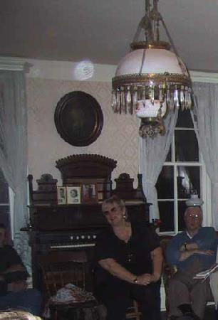 Orb in parlor